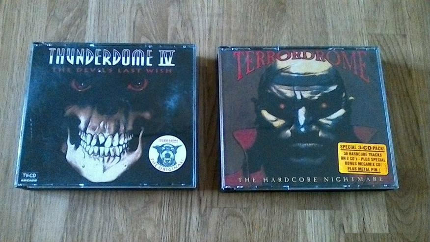 Thunderdome CD Sammlung