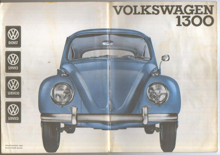 Betriebsanleitung Volkswagen 1300