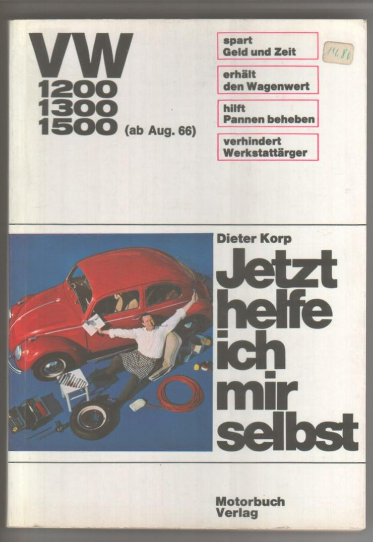 Jetzt helfe ich mir selbst VW Käfer 1200