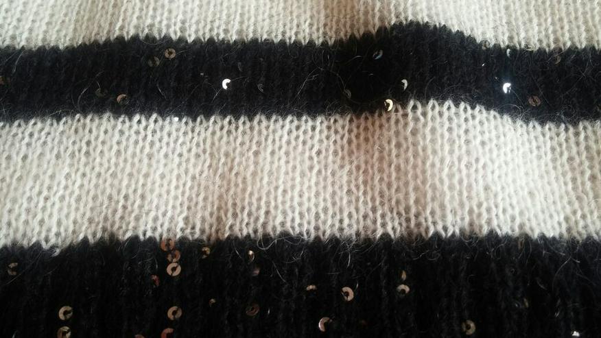 Bild 4: Damen Pullover Angora Pailletten Design Gr.S