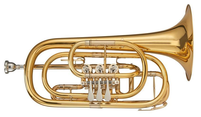 Kühnl & Hoyer Profiklasse Basstrompete in Bb - Blasinstrumente - Bild 1