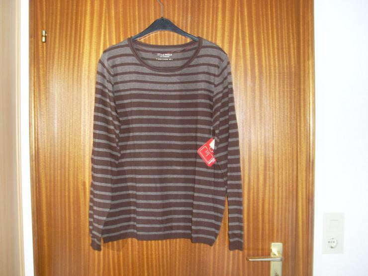 Da- Feinstrick Pullover braun Gr. 44/46 - Größen 44-46 / L - Bild 1