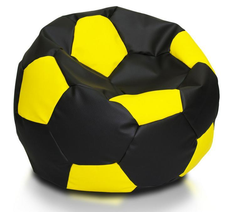Fußball 90l Sitzsäcke Bodenkissen Beanbag - Sofas & Sitzmöbel - Bild 1