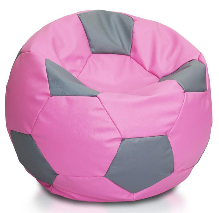 Bild 2: Fußball 90l Sitzsäcke Bodenkissen Beanbag