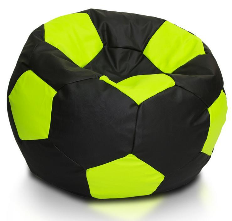 Bild 3: Fußball 90l Sitzsäcke Bodenkissen Beanbag