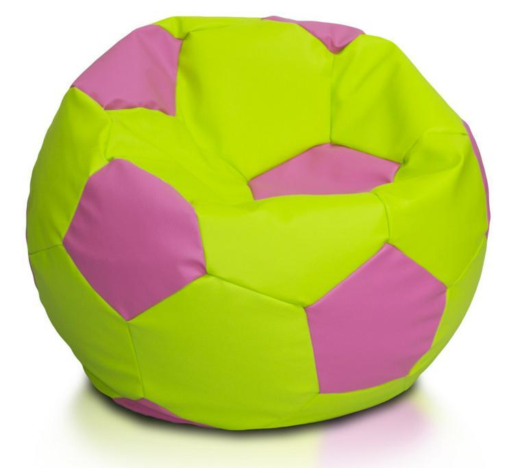 Bild 4: Fußball 90l Sitzsäcke Bodenkissen Beanbag