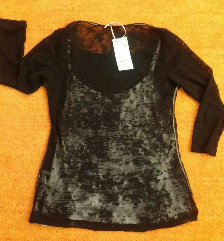 Bild 3: Neu Damen Pullover Top 2 in 1 Gr. 36 P. 69,95#0