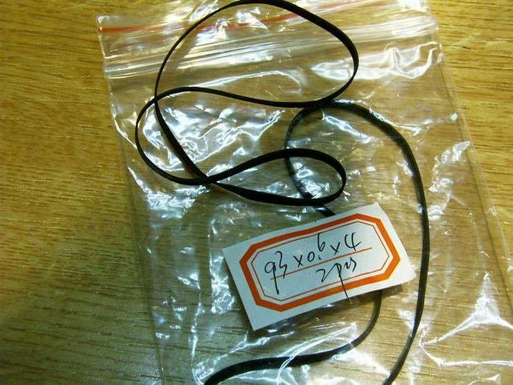 Bild 3: Kassettenband Rubber Belts Diameter 93mm