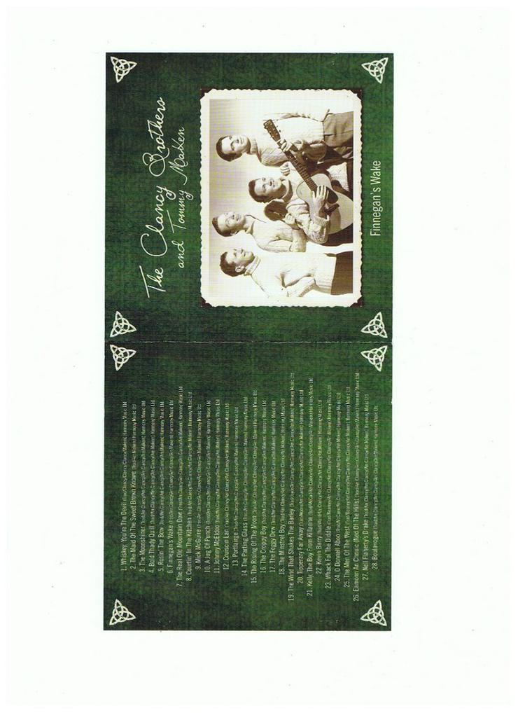 Bild 2: Irische CD: The Clancy Brothers