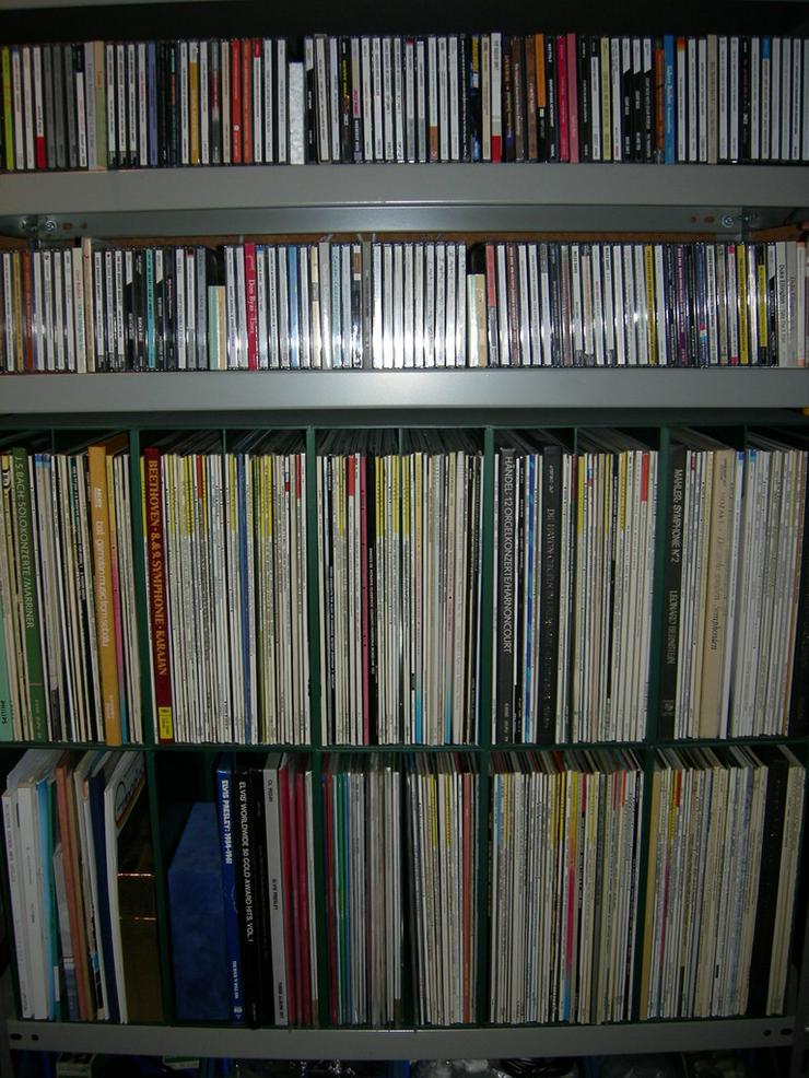 Vinyl Schallplatten und CDs privat zu verkaufen
