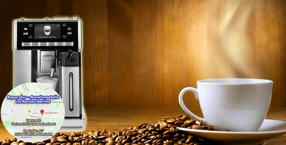 DeLonghi Kaffeevollautomaten Reparatur