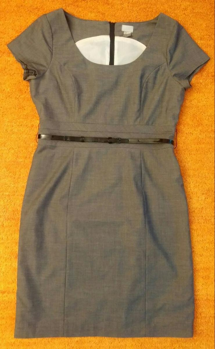 Damen Kleid Gr. 42 in Grau von H&M NW - Bild 1
