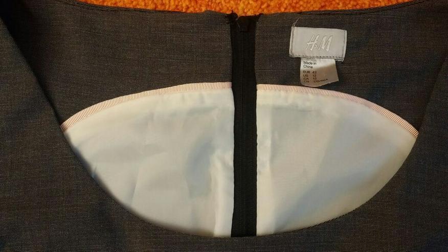 Bild 2: Damen Kleid Gr. 42 in Grau von H&M NW