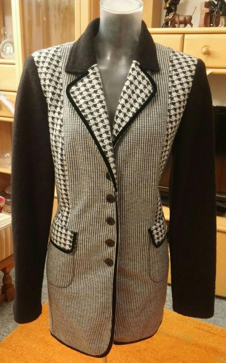 Damen Mantel Wollmix Designer Jacke Gr.38
