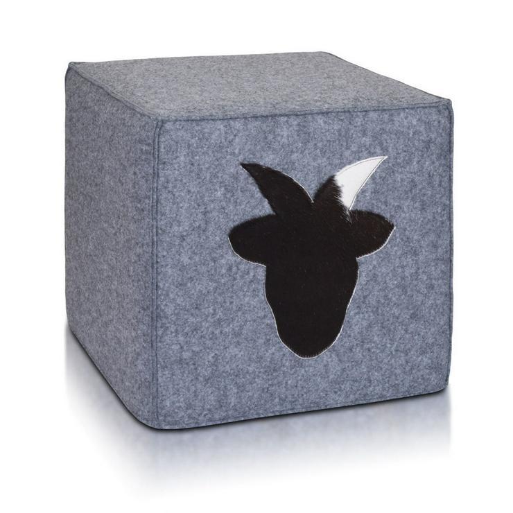 Bild 4: Hocker Sitzhocker Dekohocker Sitzwürfel Würfel