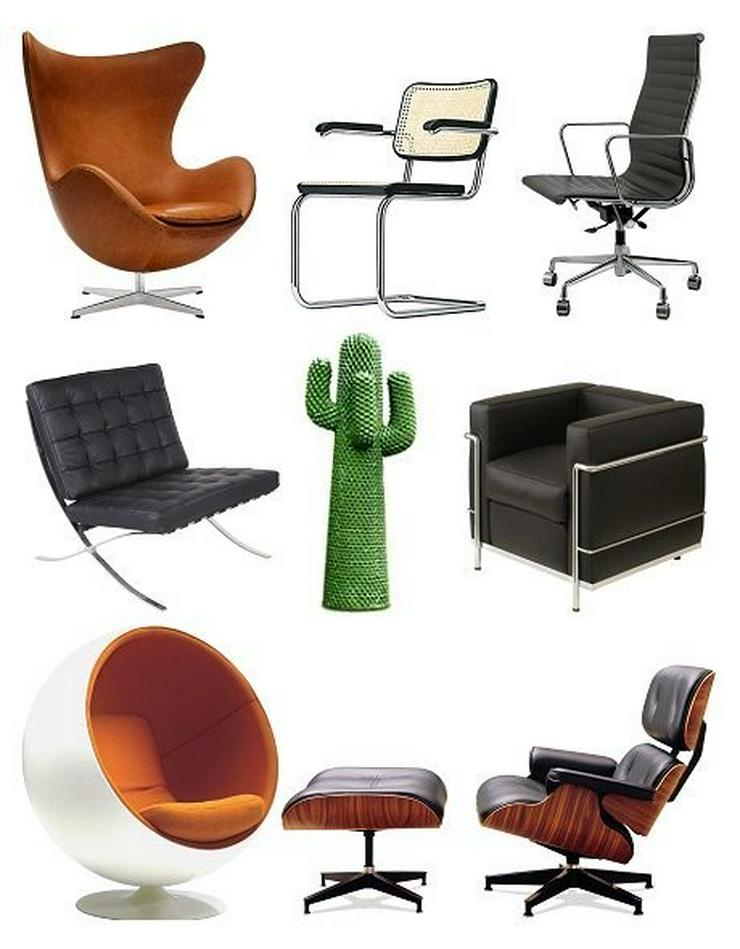 Ankauf von Vitra, Herman Miller Designer Möbeln