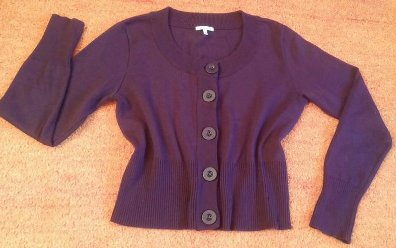 Damen Jacke strick Cardigan Gr. 38 NW