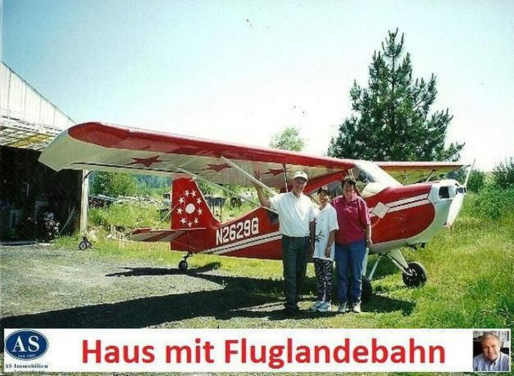 Bild 4: Landhaus mit Fluglandebahn, Scheune und Hangar auf 10 Hektar Land!
