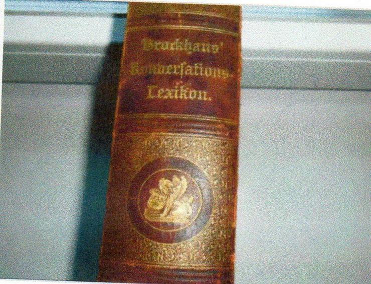 Bild 2: Brockhaus Lerikon v. 1893 für € 45 + Porto