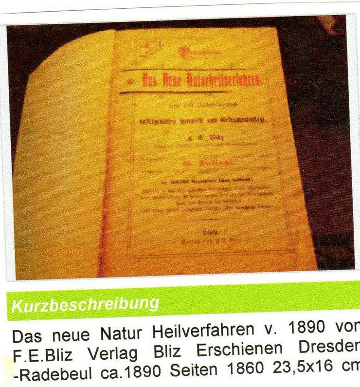 Das neue Natur Heilverfahren 1890 für €35
