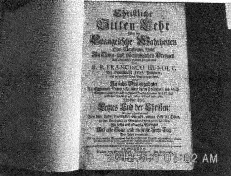 Bild 2: Sitten Lahre  Ev.Wahrheit v.1746 € 40