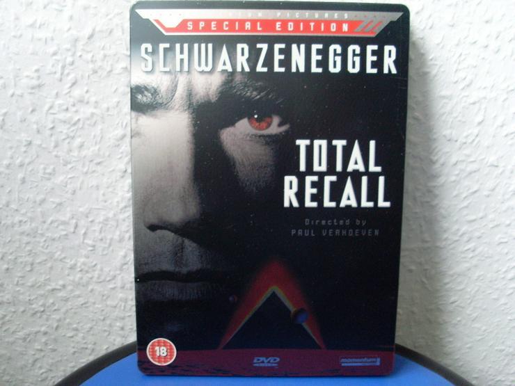 Die Totale Erinnerung-Steelbook UK+Deutsch