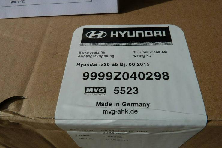 Bild 6: Anhängekupplung für Hyundai ix 20