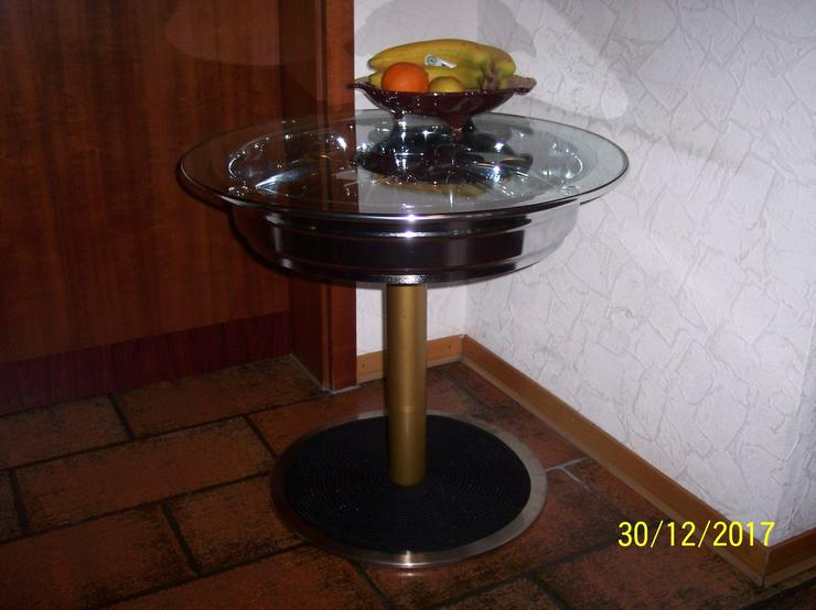 Beistelltisch Felgentisch Couchtisch Chromfelge In Satteldorf Auf
