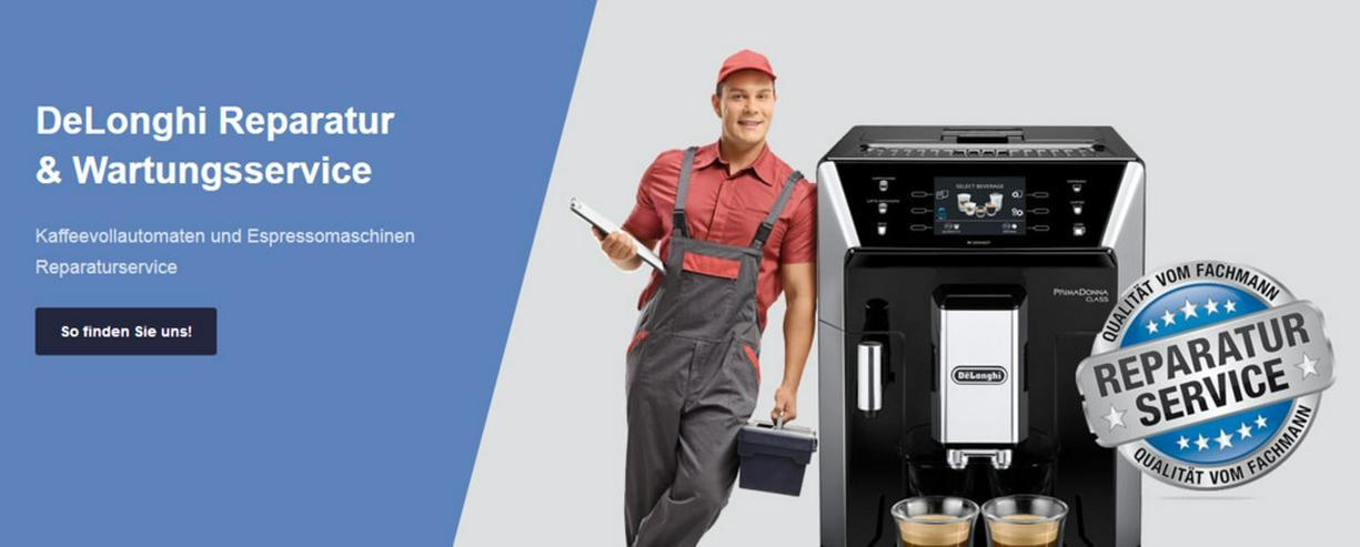 DeLonghi Kaffeemaschinen Reparatur Berlin