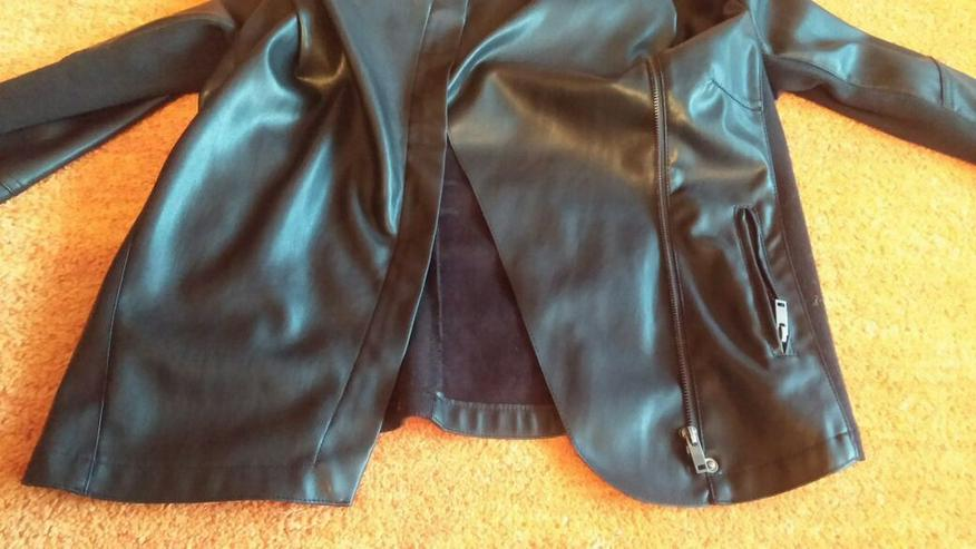 Bild 5: NEU Damen Jacke EDEL Leder-Look Gr. 40