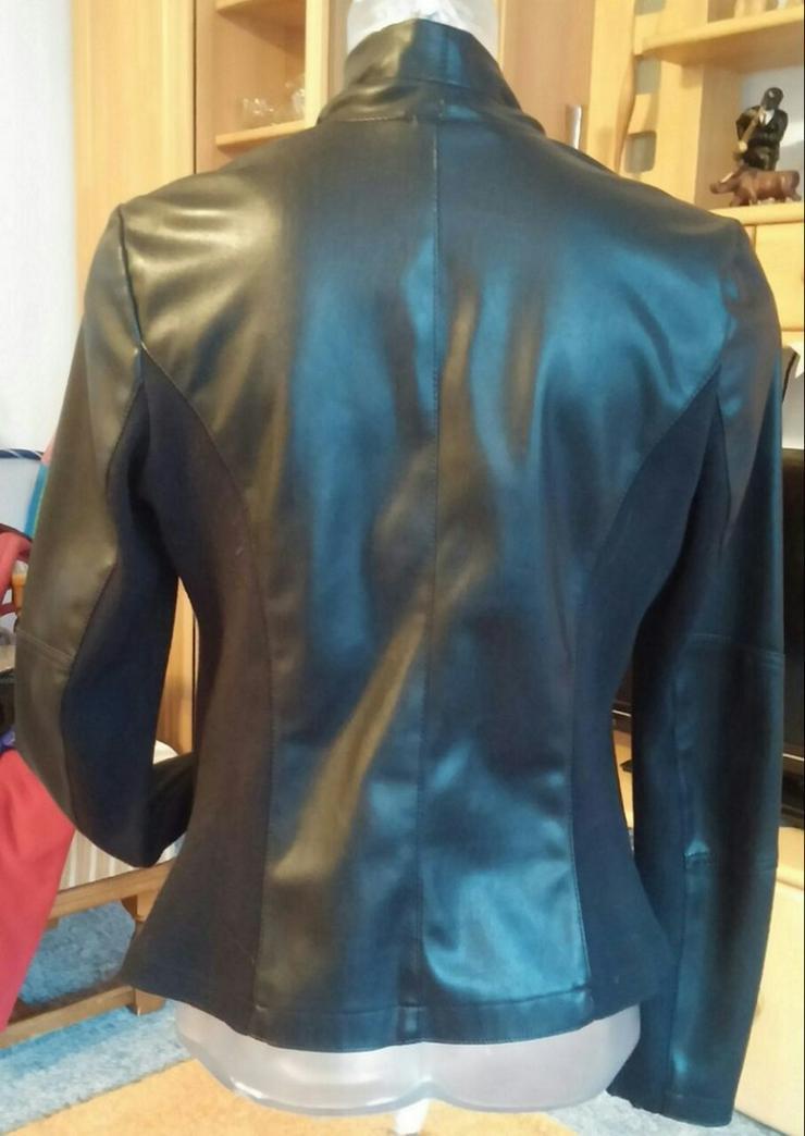 Bild 6: NEU Damen Jacke EDEL Leder-Look Gr. 40