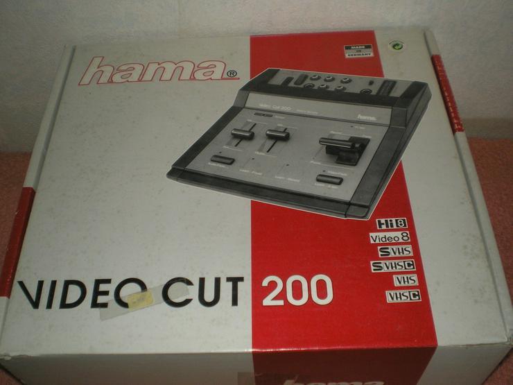 Bild 2: Hama Videobearbeitung, Betamax Kasetten