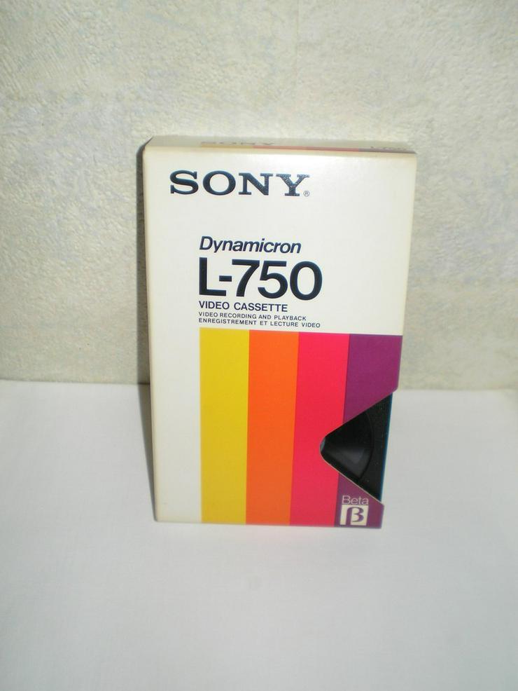 Bild 3: Hama Videobearbeitung, Betamax Kasetten