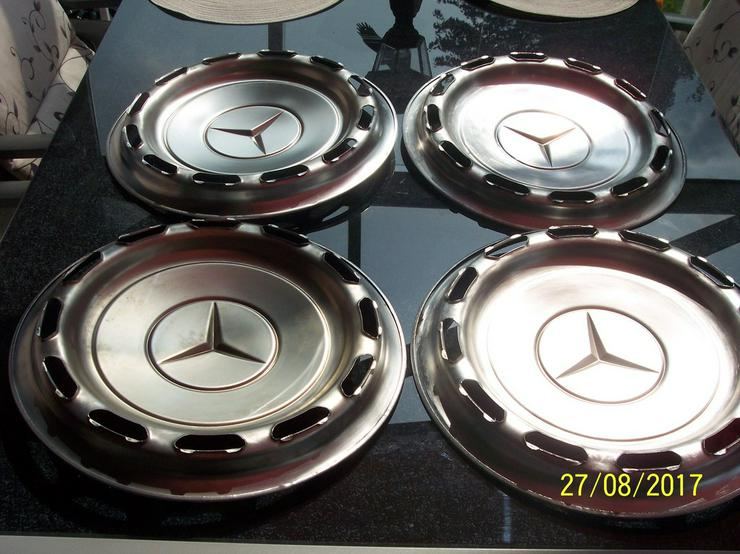Bild 5: Mercedes W123 Oldtimer Radkappen statt 240Euro