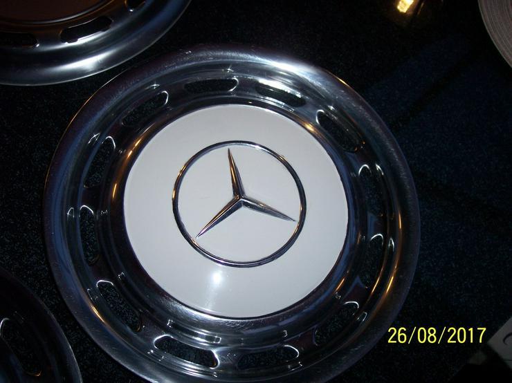Bild 6: Mercedes W123 Oldtimer Radkappen statt 240Euro
