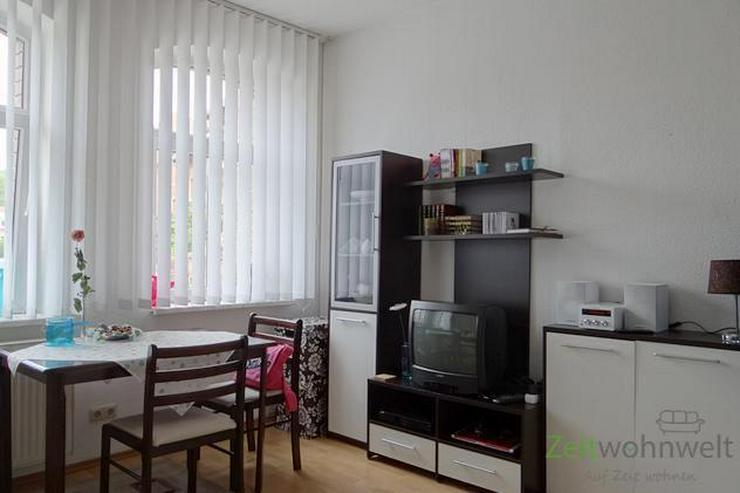 (EF0155_Y) Erfurt: Hochheim, möbliertes Zimmer mit eigenem Bad und Singleküche - Wohnen auf Zeit - Bild 1