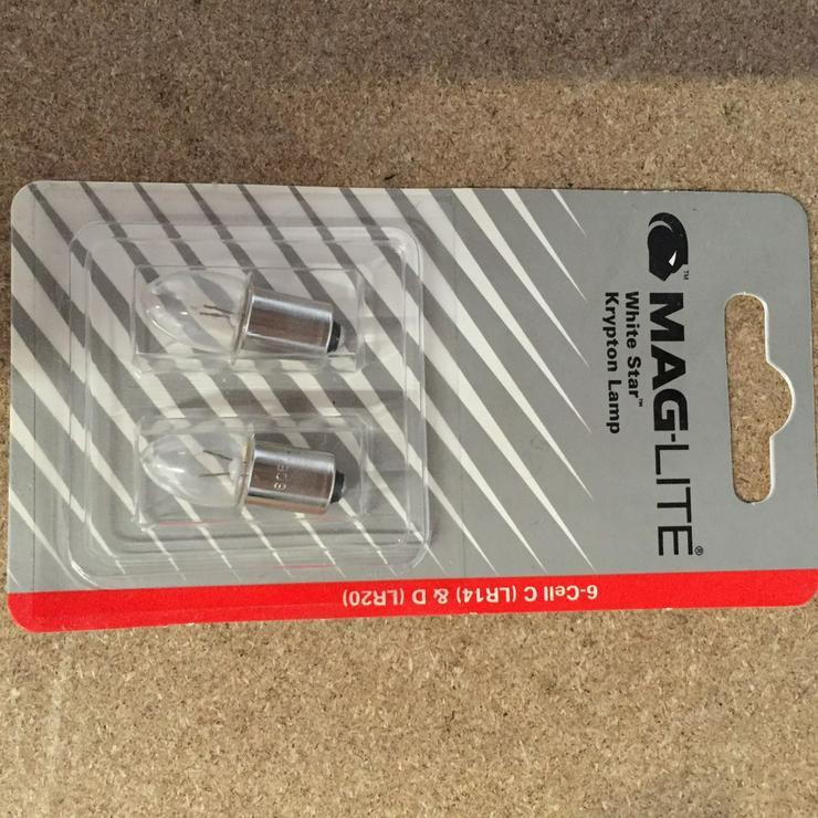 Mag-Lite® Ersatzlampe für 6d+c-Cell 2e
