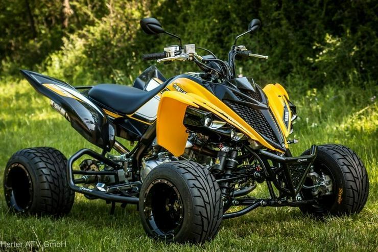 Yamaha YFM 700R Supermoto