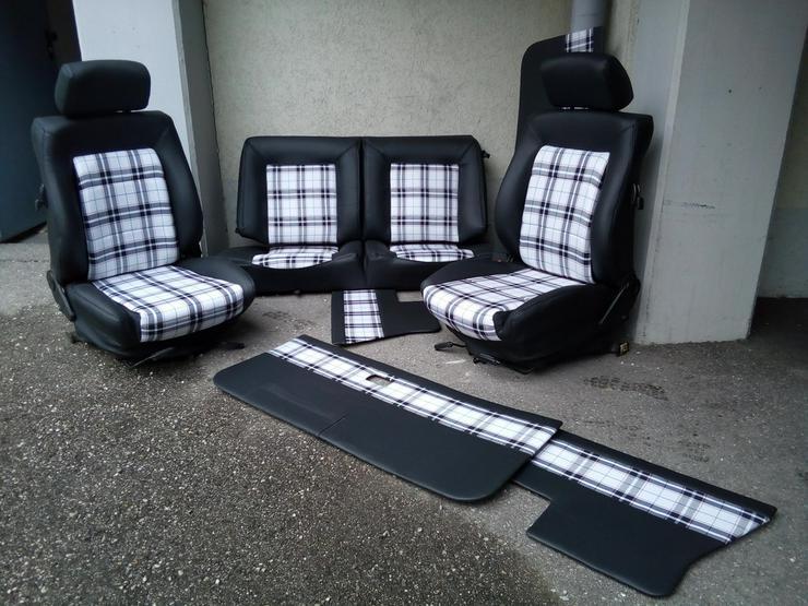 bilder zu golf gti sitze golf cabrio sitze in passau. Black Bedroom Furniture Sets. Home Design Ideas