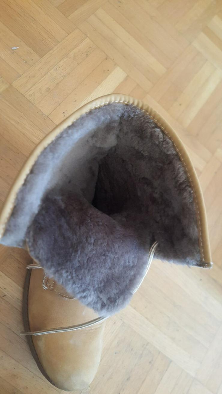 Bild 4: RIEKER Schnür Boots mit Fell