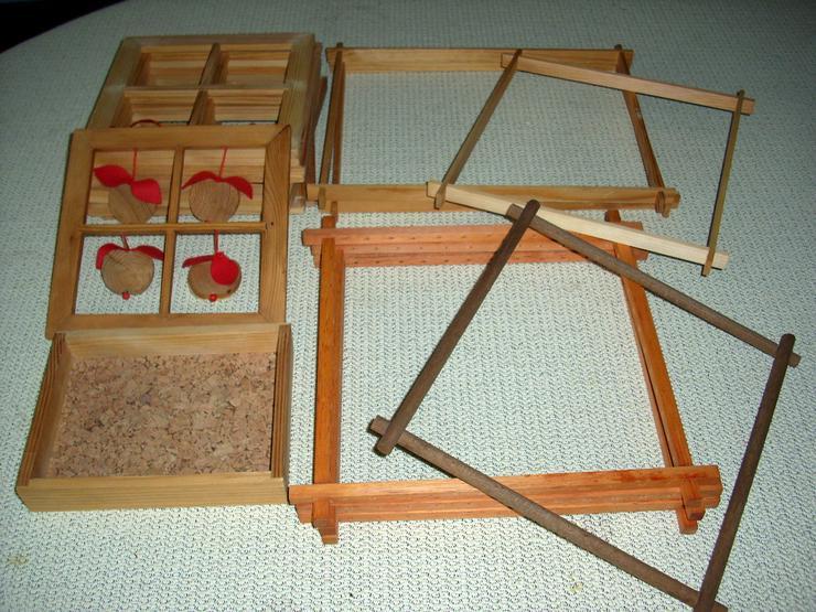 Holz-Rahmen zum Basteln - Basteln & Handarbeiten - Bild 1