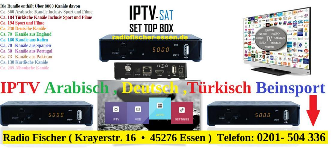 IPTV Arabisch , Deutsch , Türkisch ,