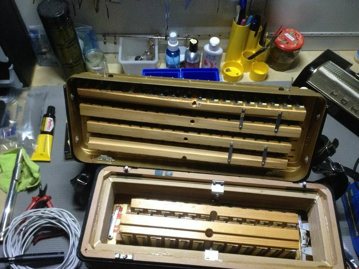 Reparatur Akkordeon Steirische Harmonika