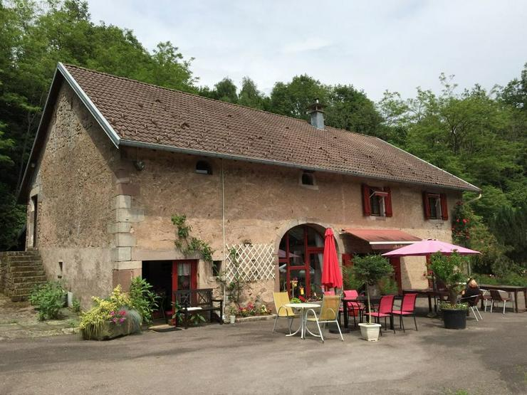 Farm mit 1 Hektar Umschwung - 120 km von Basel