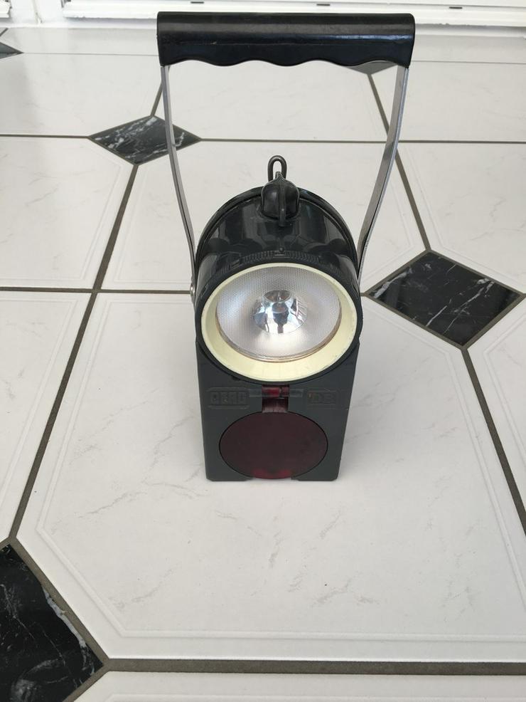 Original DB Wagenmeisterhandleuchte - Weitere - Bild 1