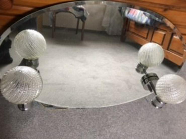 Badezimmerspiegel mit 2 integrierten Leuchten in Rosengarten ...
