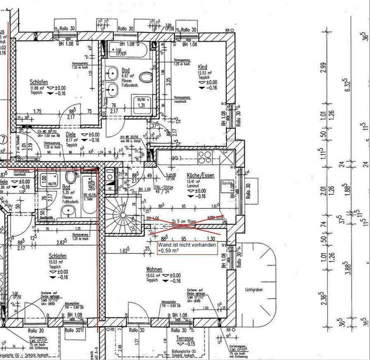 Bild 5: Neuwertige 4-Zimmer-Erdgeschosswohnung inkl. Garten und Garage!