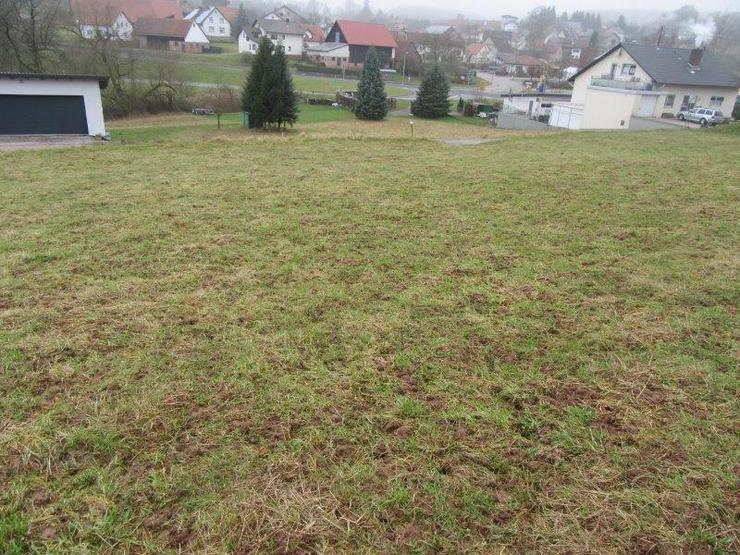 Bild 5: Schön gelegener Bauplatz mit ca. 1199 m² in Limbach OT im Odenwald