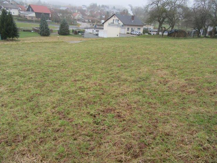 Bild 4: Schön gelegener Bauplatz mit ca. 1199 m² in Limbach OT im Odenwald