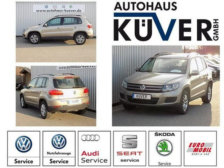 VW Tiguan 2,0 TDI Panorama AHK Einparkhilfe Alu16'' - Tiguan - Bild 1